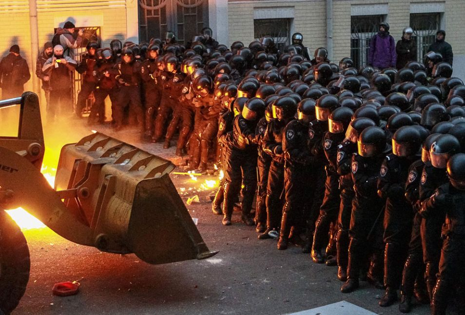 protestors ukraine