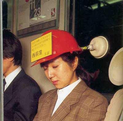 public transport helmet