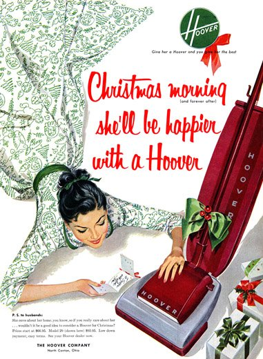 sexist christmas vacuum ad