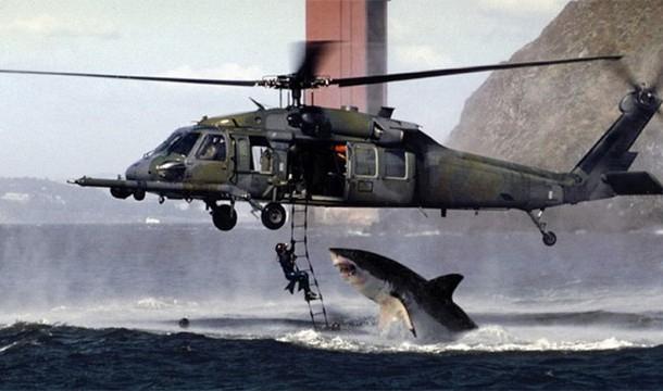 shark v helicopter