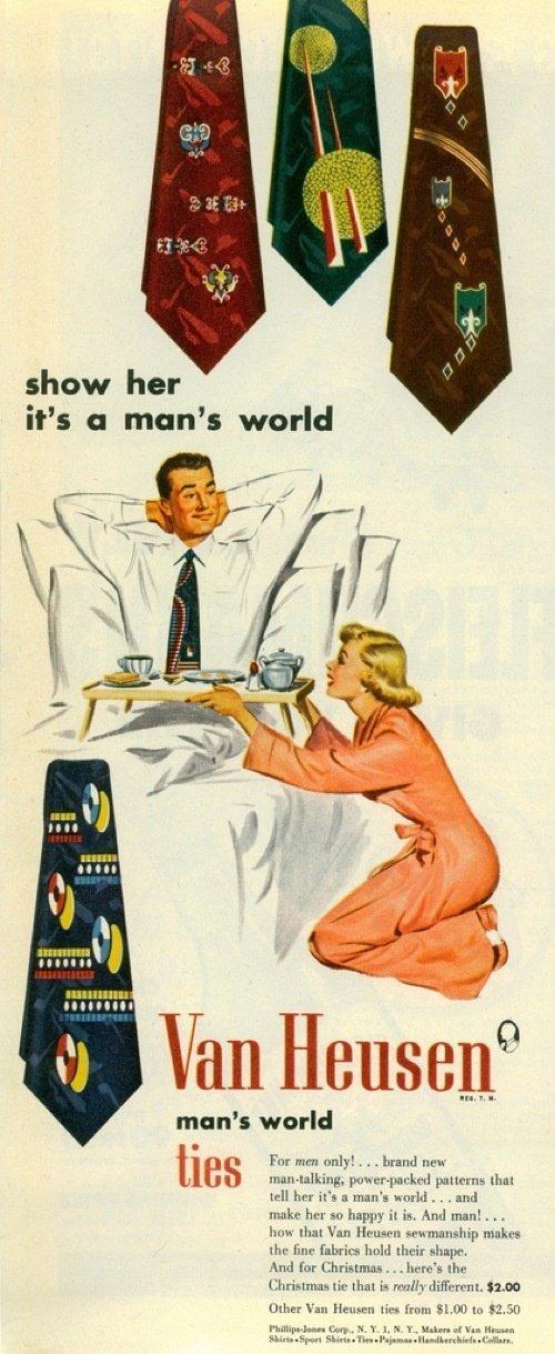 van heusen sexist ad