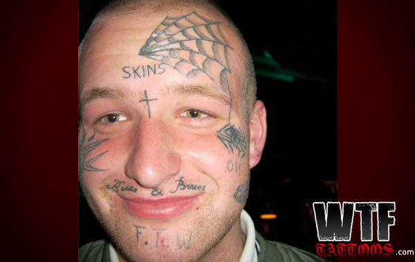 Photos 31 Of The Worst Face Tattoos Of All Time Sick Chirpse