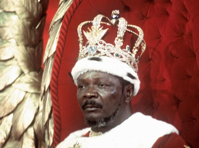 Central African Republic - emperor bokassa 2