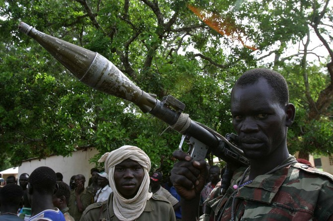 Central African Republic - rebel