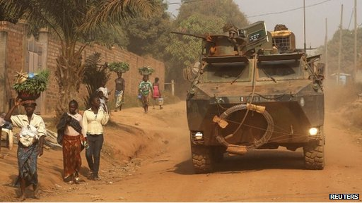 Central African Republic - tank