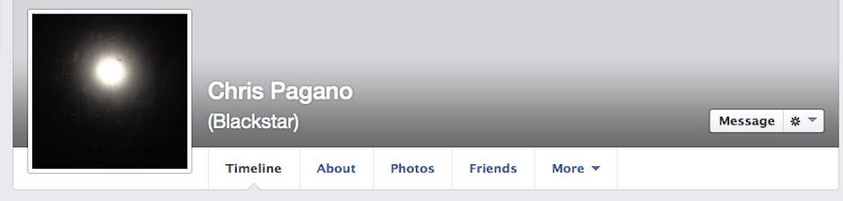 Chris Pagano New Facebook