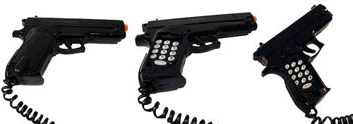 Darwin Awards Ken Charles Barger - Gun Phone