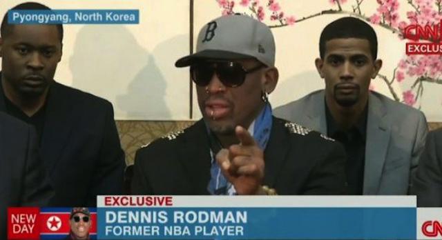 Dennis Rodman Meltdown