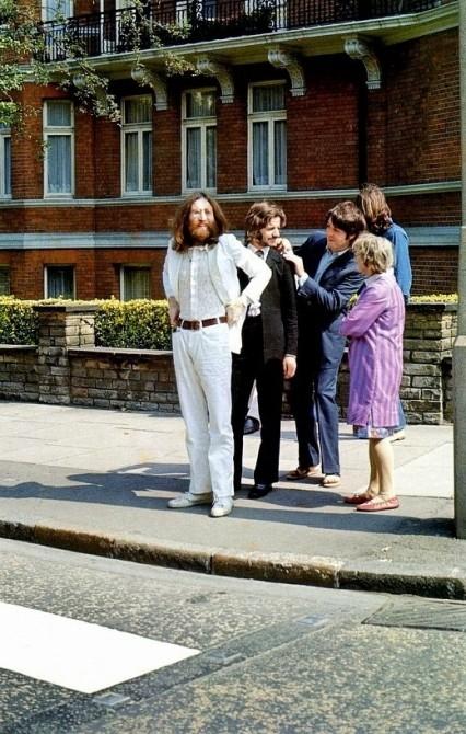 Historical Photos - Beatles Abby Road