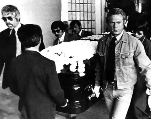 Historical Photos - Bruce Lee Funeral