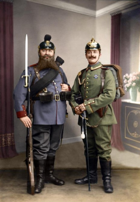 Historical Photos - German Soldiers 1913