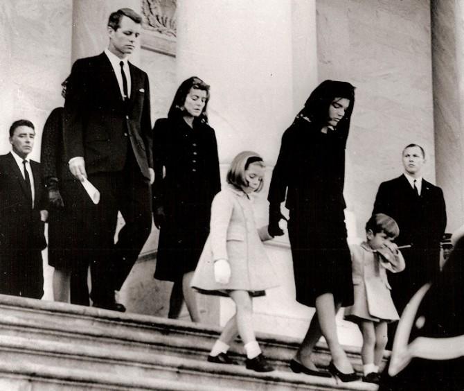 Historical Photos - JFK Family Funeral