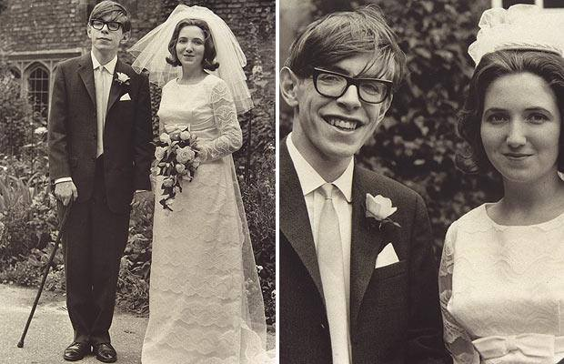 Historical Photos - Steven Hawking marriage