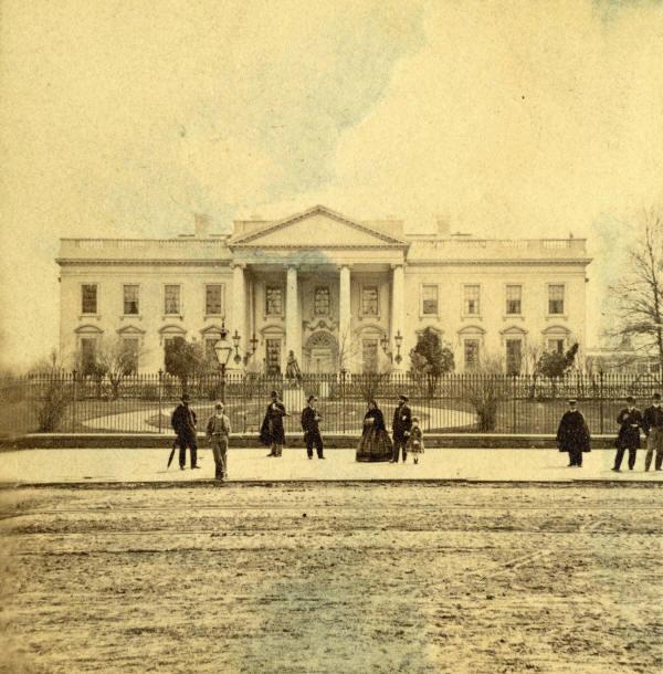 Historical Photos - Whitehouse 1865