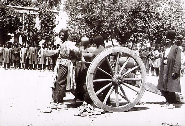 Historyical Photos - Execution by Cannon