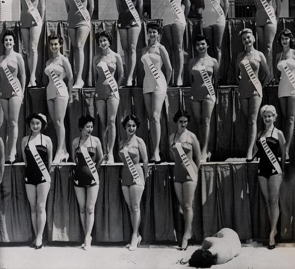 Historyical Photos - Miss New Zealand