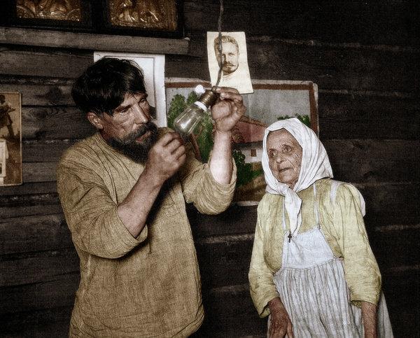 Historyical Photos - Russian Peasants 1920