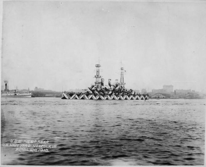 Historyical Photos - USS Nebraska