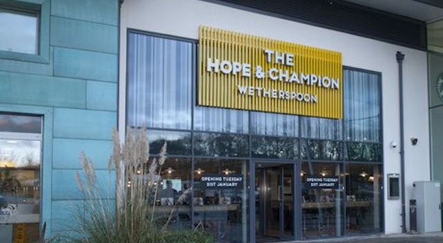Hope And Champion Wetherspoons