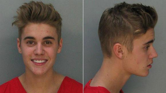 Justin Bieber Mug Shots
