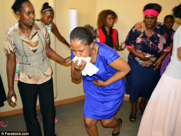 Lesego Daniel - Church - Eating Grass - puking