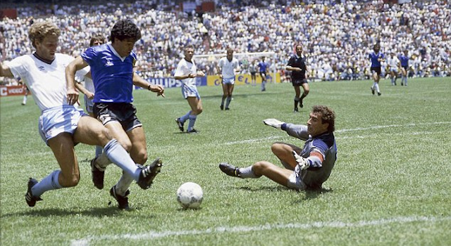 VIDEO: Stunning New Video Of Diego Maradona's Epic Goal ...
