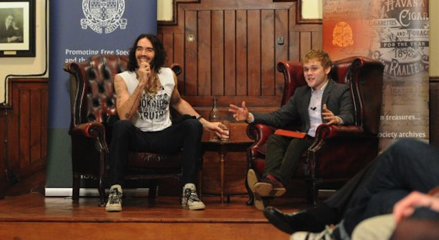 Russell Brand Cambridge University
