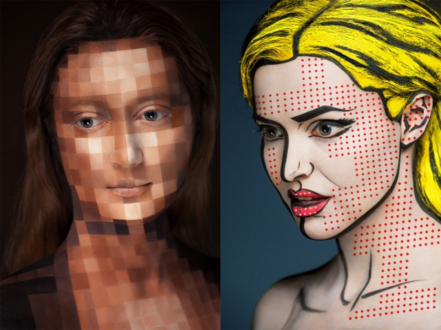 Russia With Love - Body Art Pixel