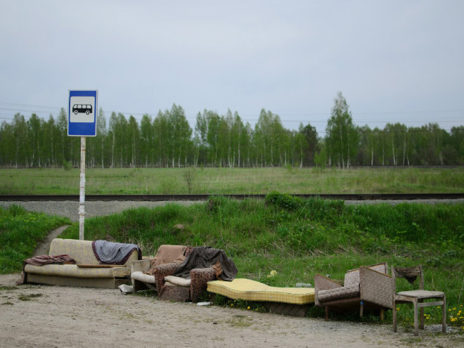 Russia With Love - Bus Stop