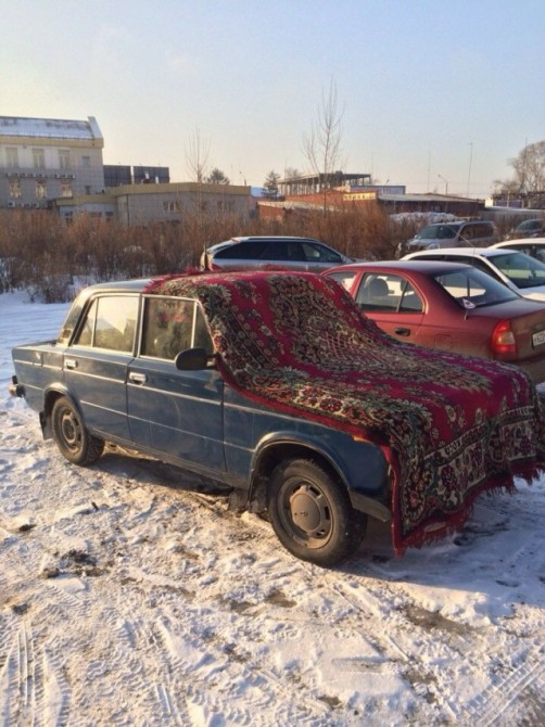 Russia With Love - Carpet Car