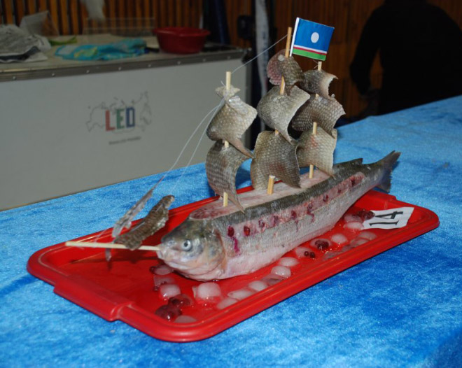 Russia With Love - Fish Boat