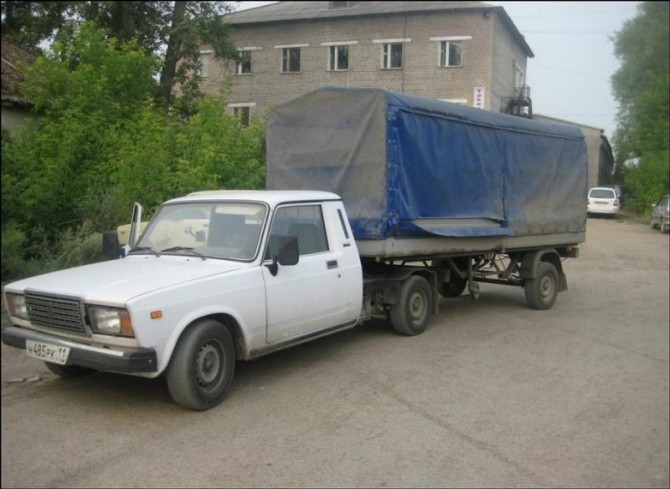 Russia With Love - car truck