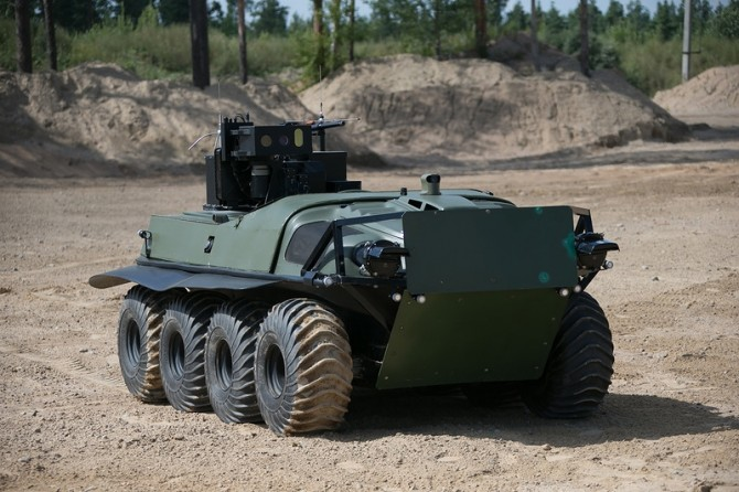 Russia With Love - combat robot