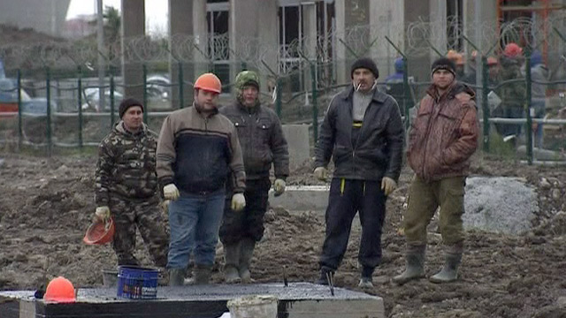Winter Olympics: Human Rights Watch report on migrant labour abuse at Sochi - video