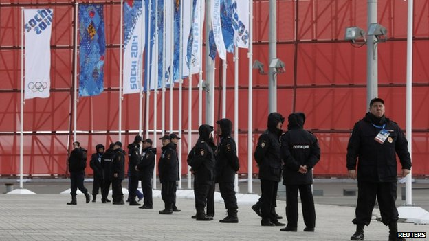 Sochi Olympics - Problems - Danger - Police force