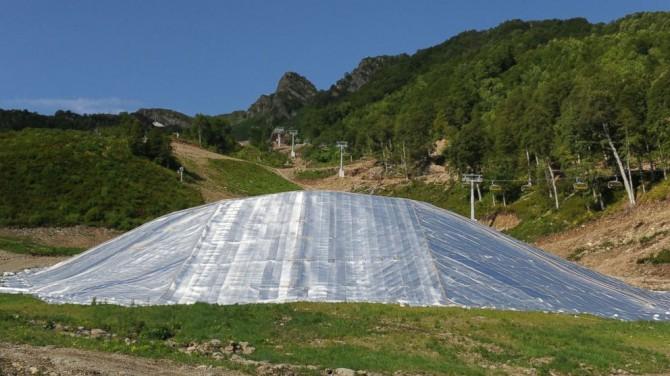 Sochi Olympics - Problems - Danger - Snow storage
