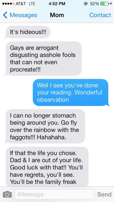 Texts From My Homophobic Mother 2