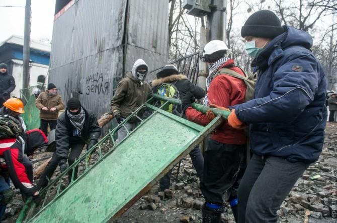 Ukraine Handmade Weapons - Barricades 2