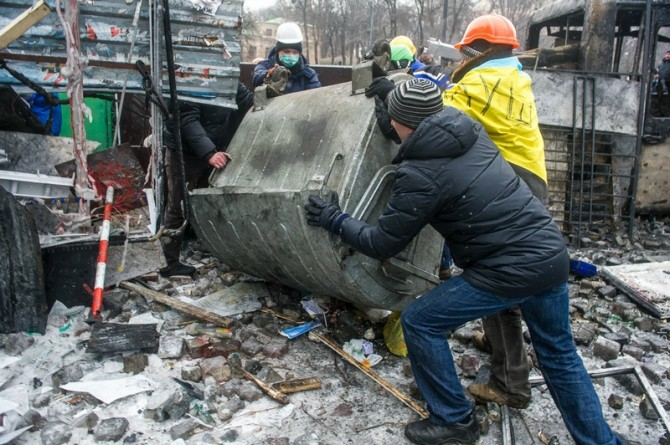 Ukraine Handmade Weapons - Barricades 3