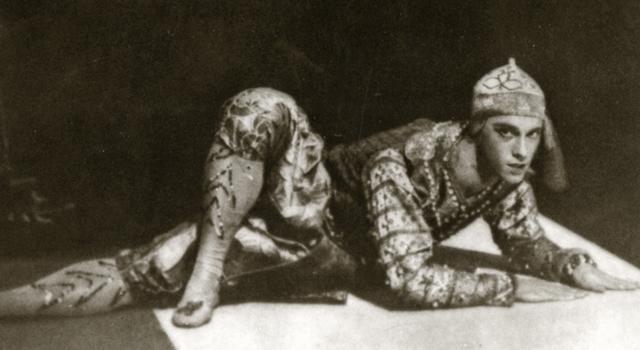 Vaslav Nijinsky - russian ballet icon