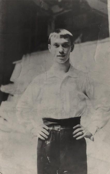 Vaslav Nijinsky - youth