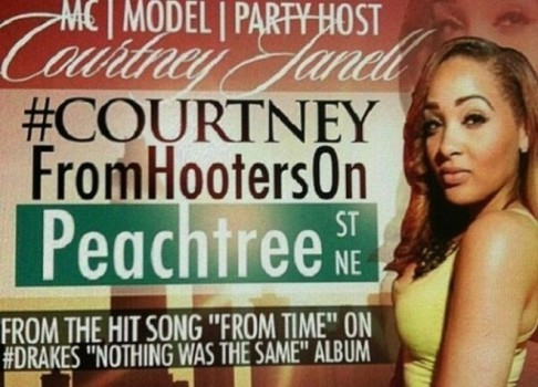 Courtney from Hooters on Peachtree
