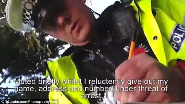 police officer idiot