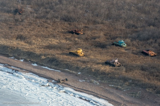 Amazing Pictures From Russia - Far East of Russia military targets soviet training era