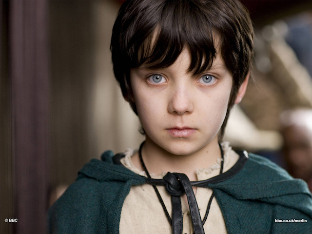 Asa Butterfield Merlin