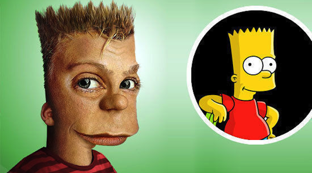 Bart Simpson Realistic