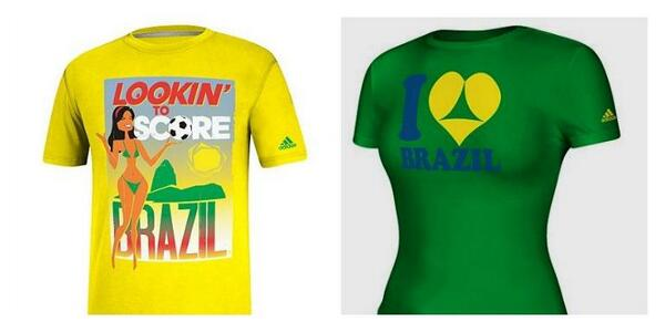 Brazil Sexualised T-Shirts