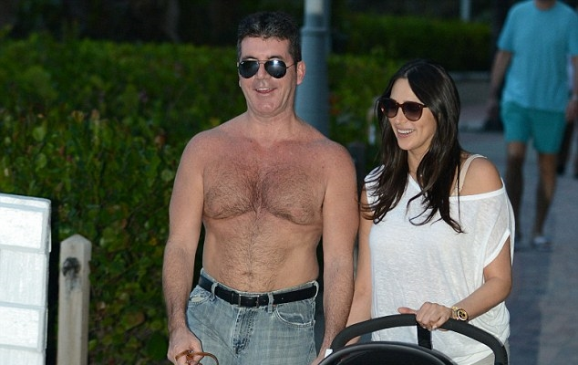 Daily Mail Celeb Non-news - Cowell Topless 2
