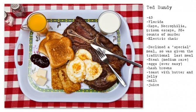 Death Row Last Meals 7