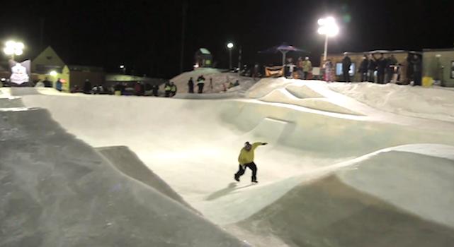 Frozen Skate Park